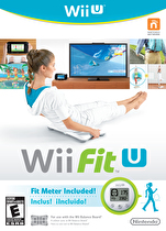Wii Fit U Box Art