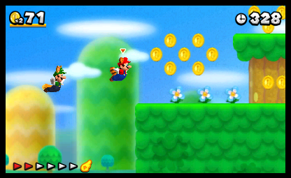 Cooperative Play Almost Left Out of New Super Mario Bros  2 - News