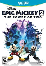 Disney Epic Mickey 2: Futatsu no Ryoku Box Art