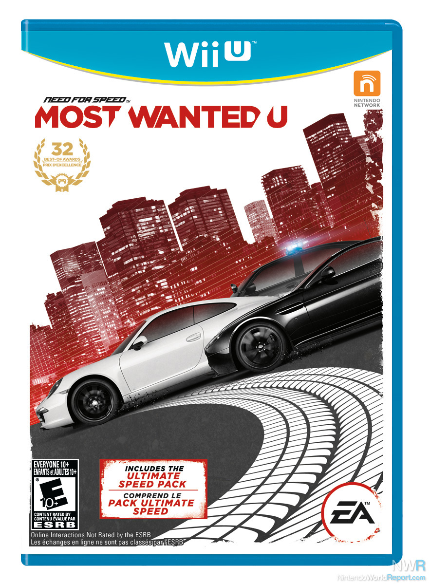 need for speed most wanted review review nintendo. Black Bedroom Furniture Sets. Home Design Ideas