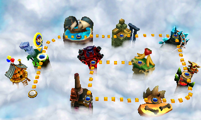 Donkey Kong Country Returns 3D Hands-on Preview - Hands-on ...