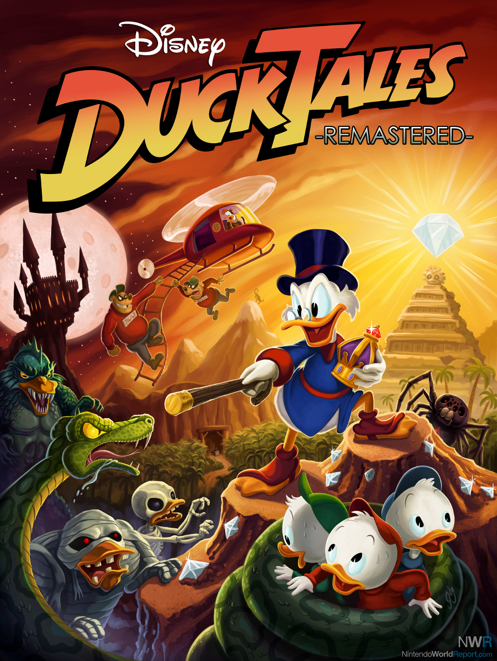 Ducktales Remastered Reloaded
