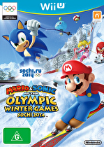 Mario & Sonic at Sochi Olympics Box Art