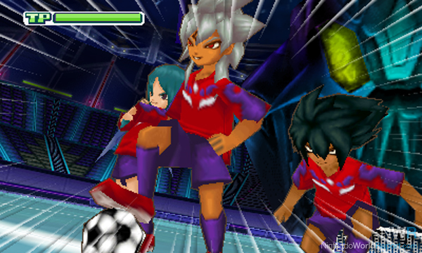 Inazuma eleven 3 team ogre attacks game nintendo world report
