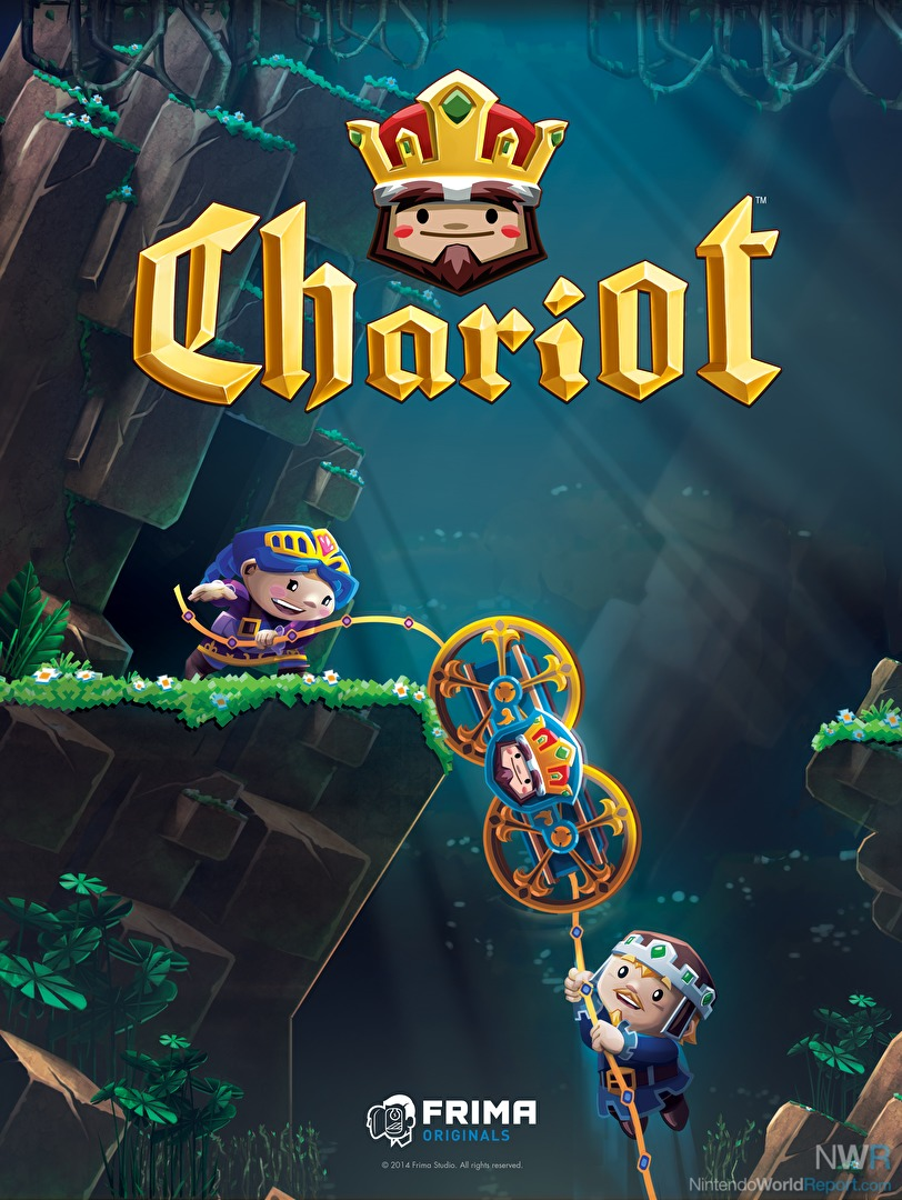Frima Studio chariot - game - nintendo world report