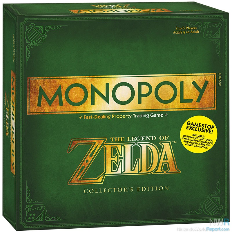 Gamestop Lists Exclusive Zelda Monopoly For Pre Order