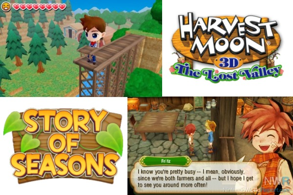 Five Things to Know About Harvest Moon Vs. Story of ...