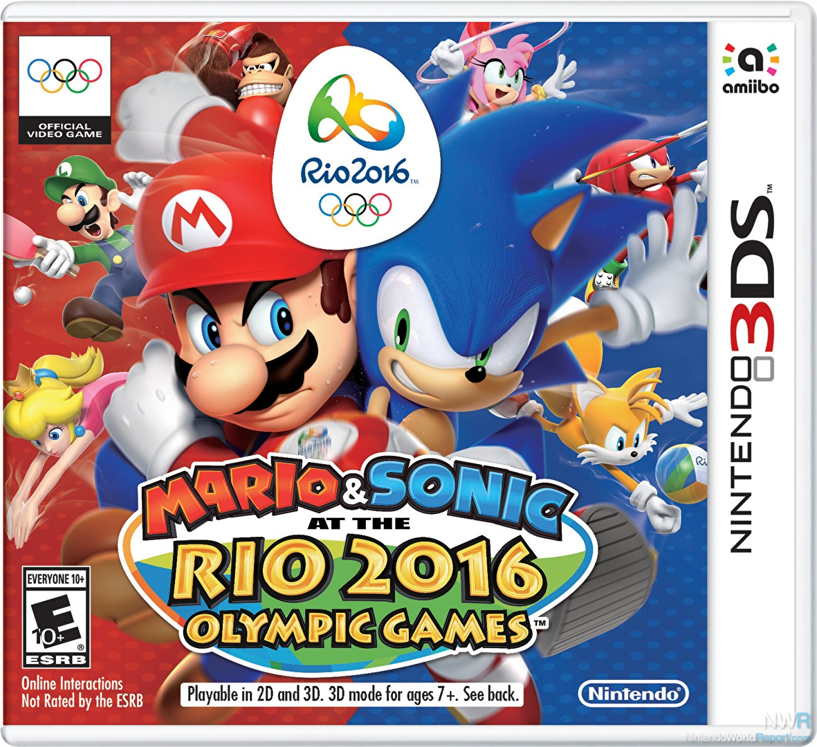 Mario & Sonic at the Olympic Winter Games NDS ROM (EUR ...