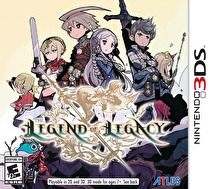 The Legend of Legacy Box Art