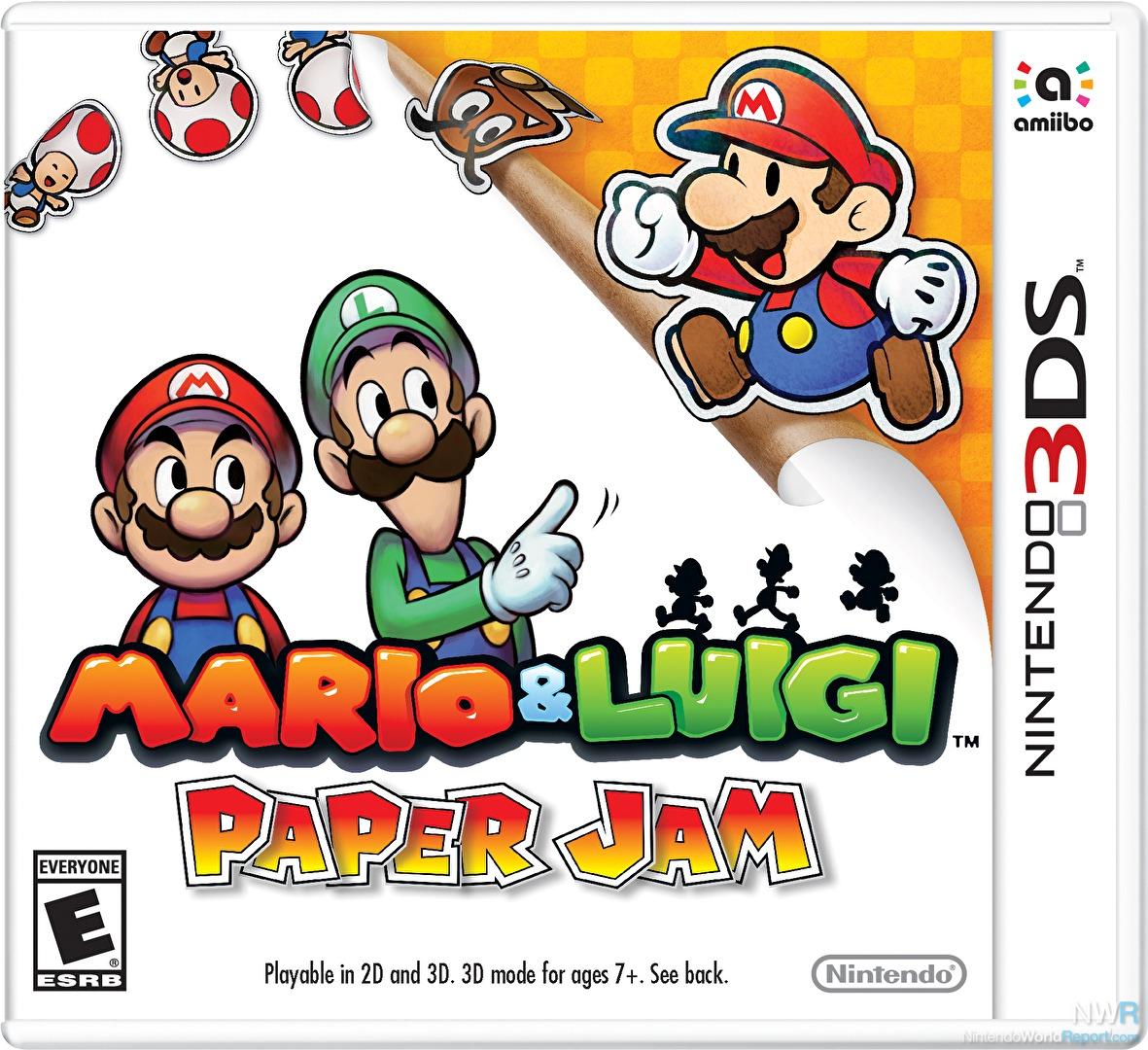 Mario Luigi Paper Jam Review Review Nintendo World Report