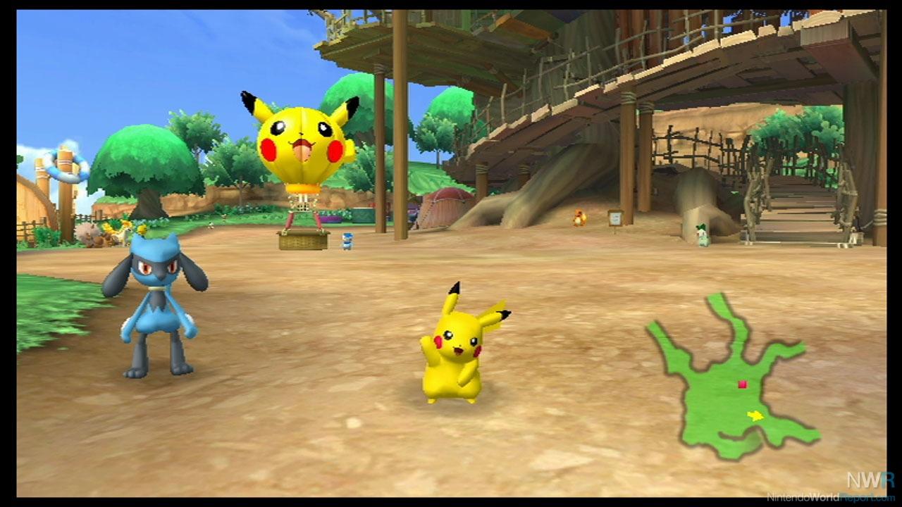 pok park wii pikachu 39 s adventure game nintendo world. Black Bedroom Furniture Sets. Home Design Ideas