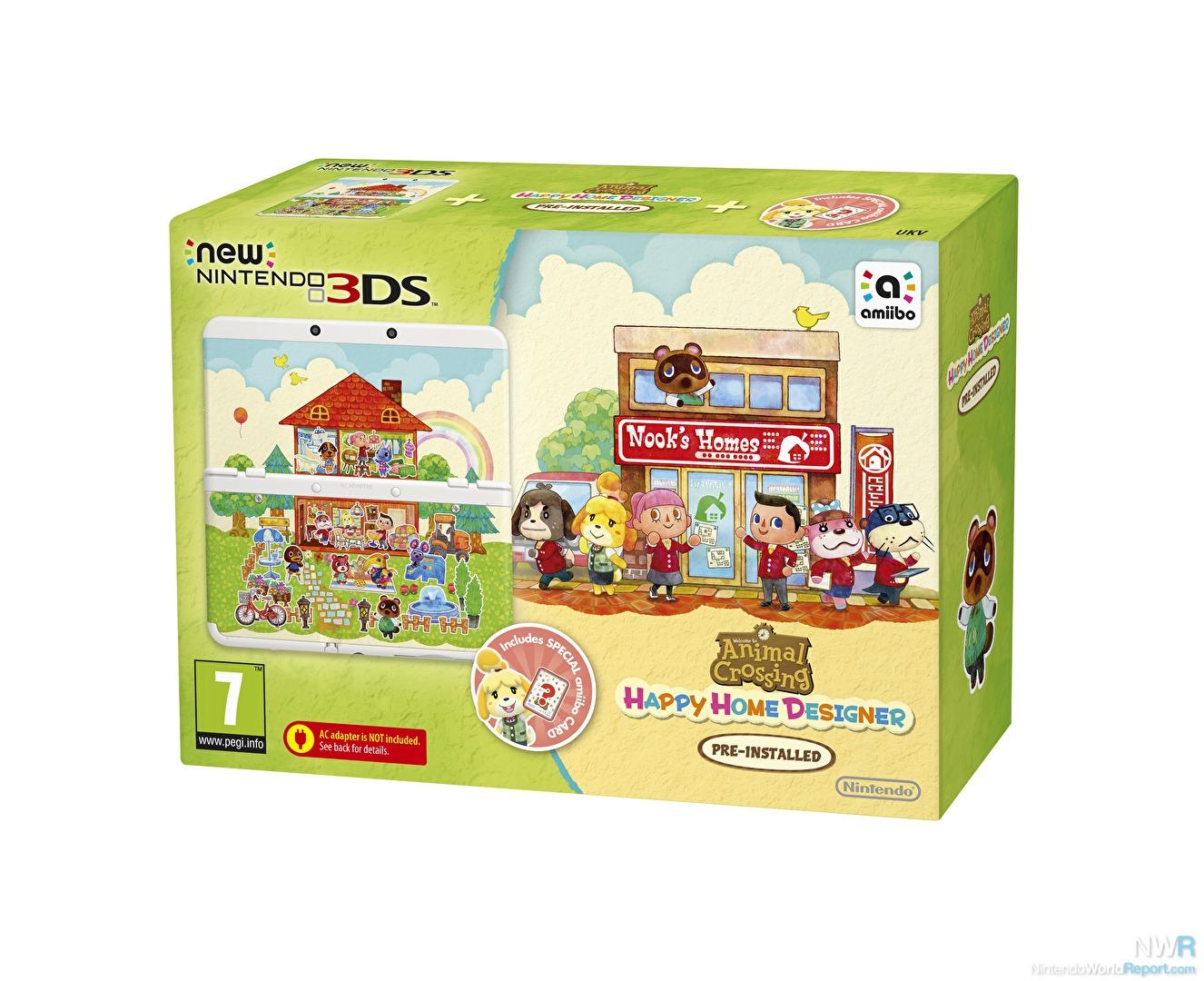 Animal Crossing: Happy Home Designer Bundles Announced for