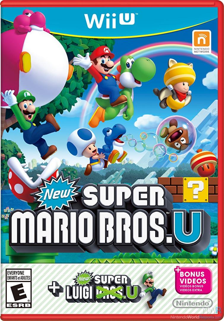 New Super Mario Bros  U + New Super Luigi U - Game