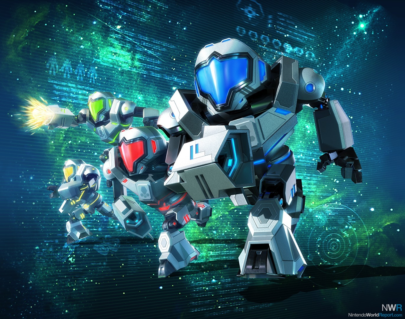 Five Questions About Metroid Prime Federation Force