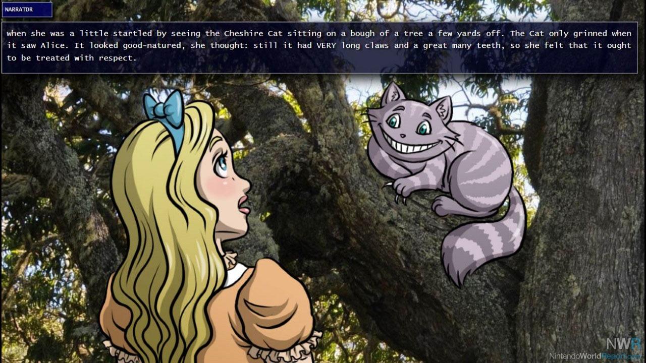 Alice In Wonderland Games: Nintendo World Report