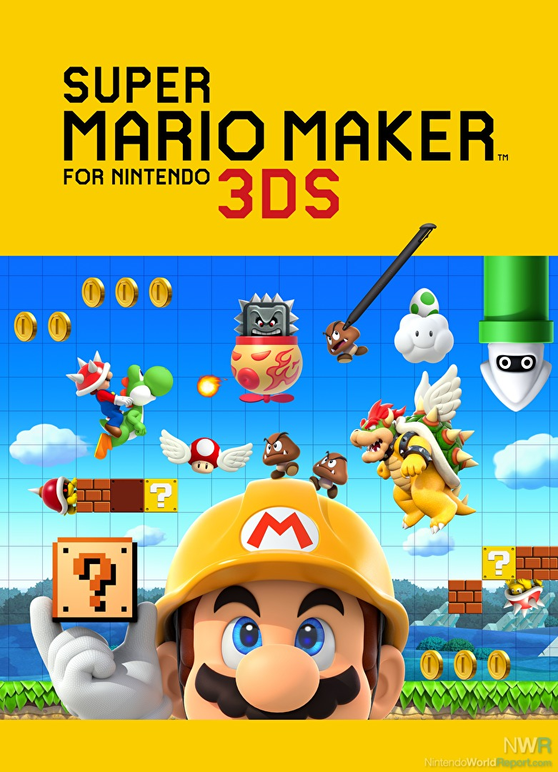 super mario maker for nintendo 3ds  media  nintendo