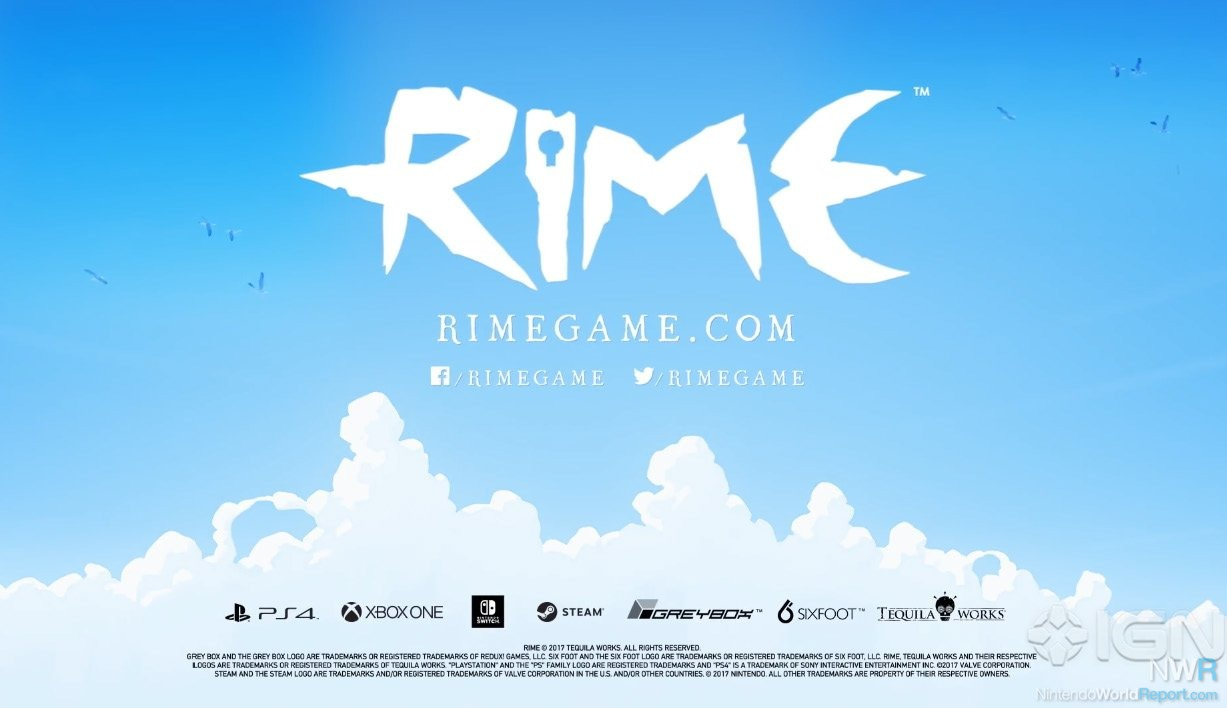 Rime, third-person action adventure, announced for the PC
