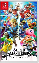Super Smash Brothers Ultimate Box Art