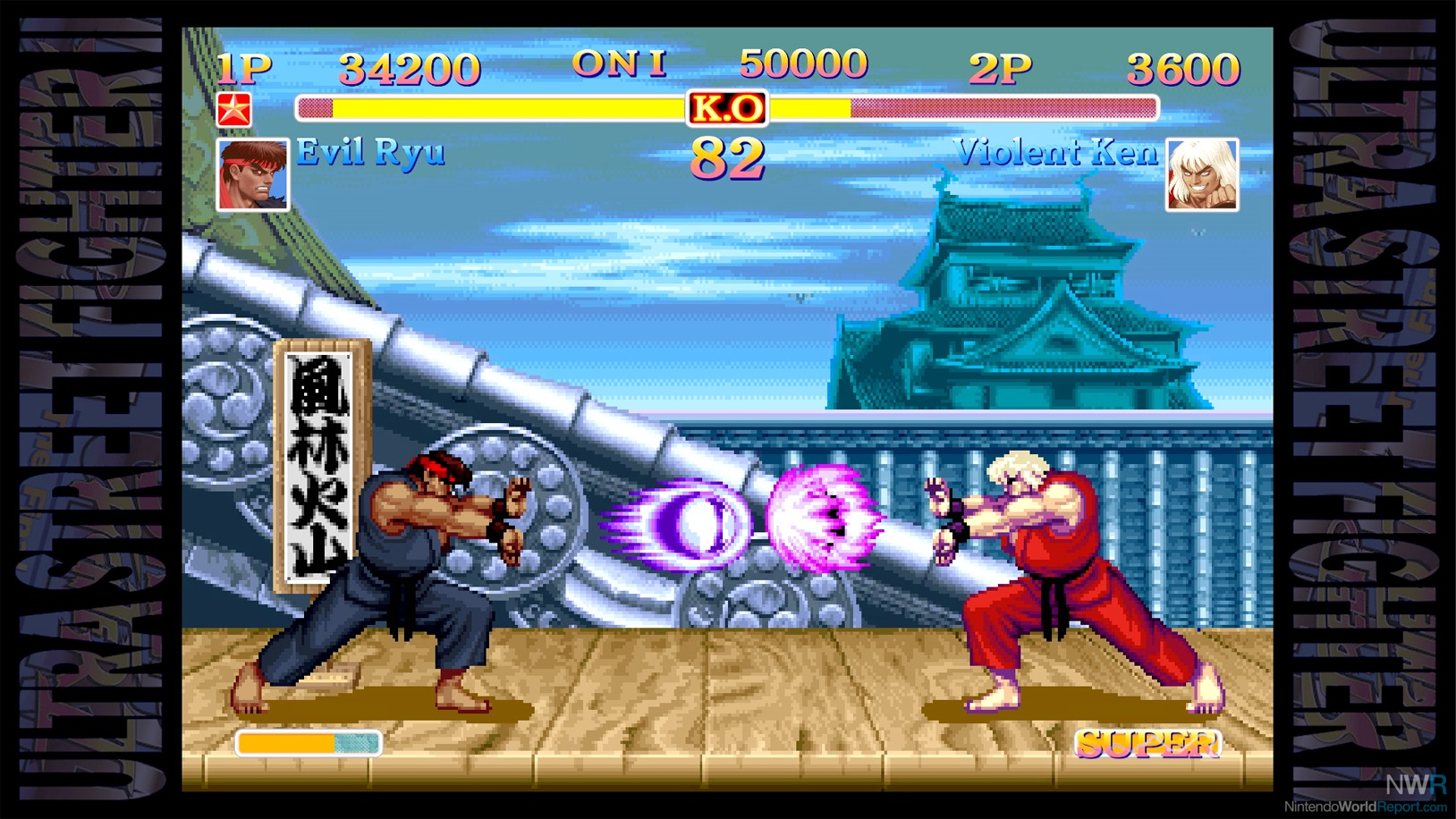 ryu special moves street fighter 2