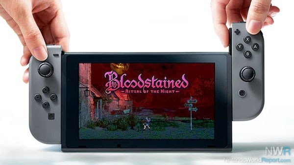 Bloodstained: Ritual of the Night is officially coming to the Nintendo Switch