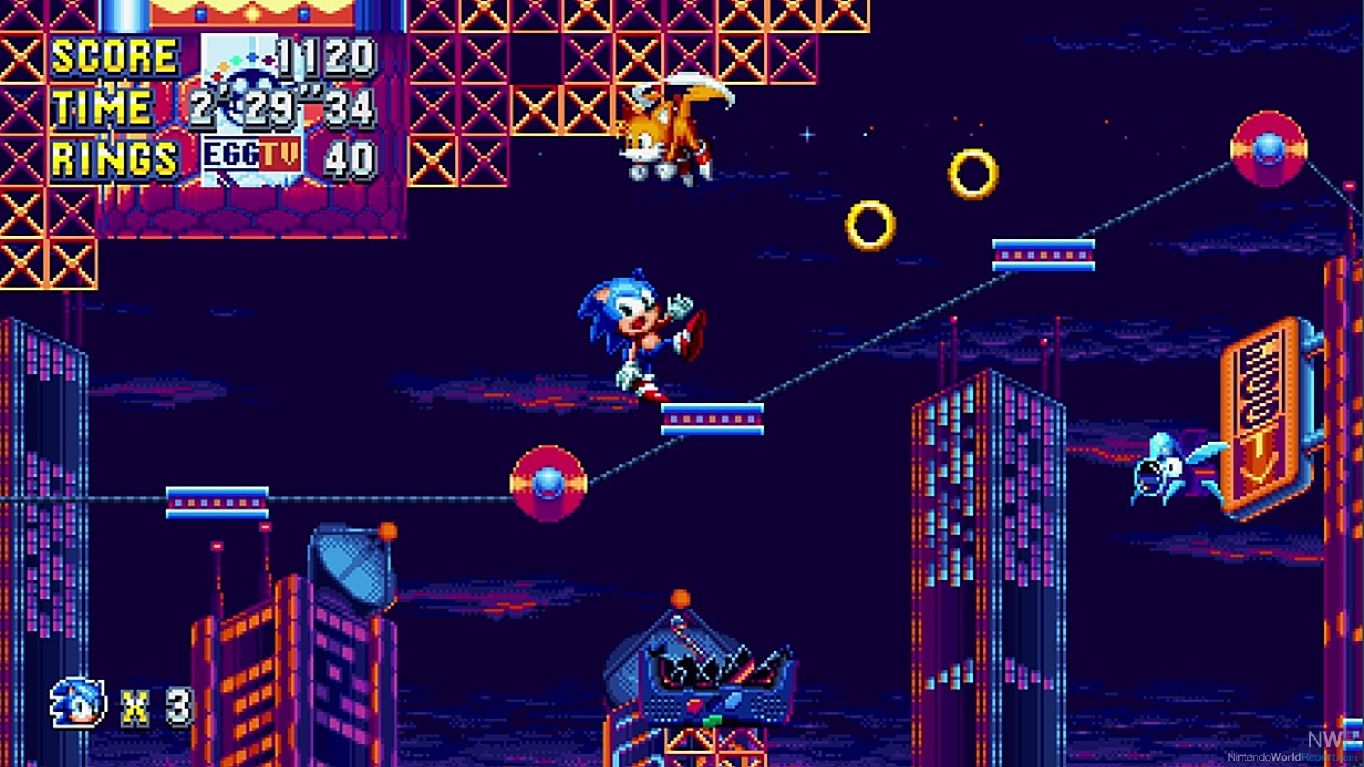 Sonic Mania lands on the Nintendo Switch August 15th