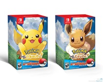 Pokémon Let's Go, Pikachu! and Eevee! Box Art