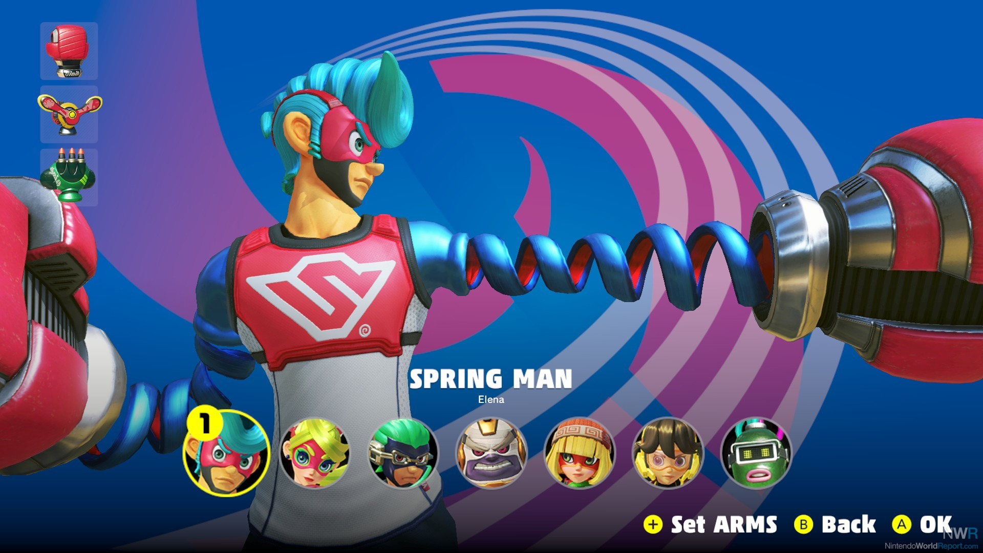 ARMS Receiving New Fighter in July, Spectator Mode in June