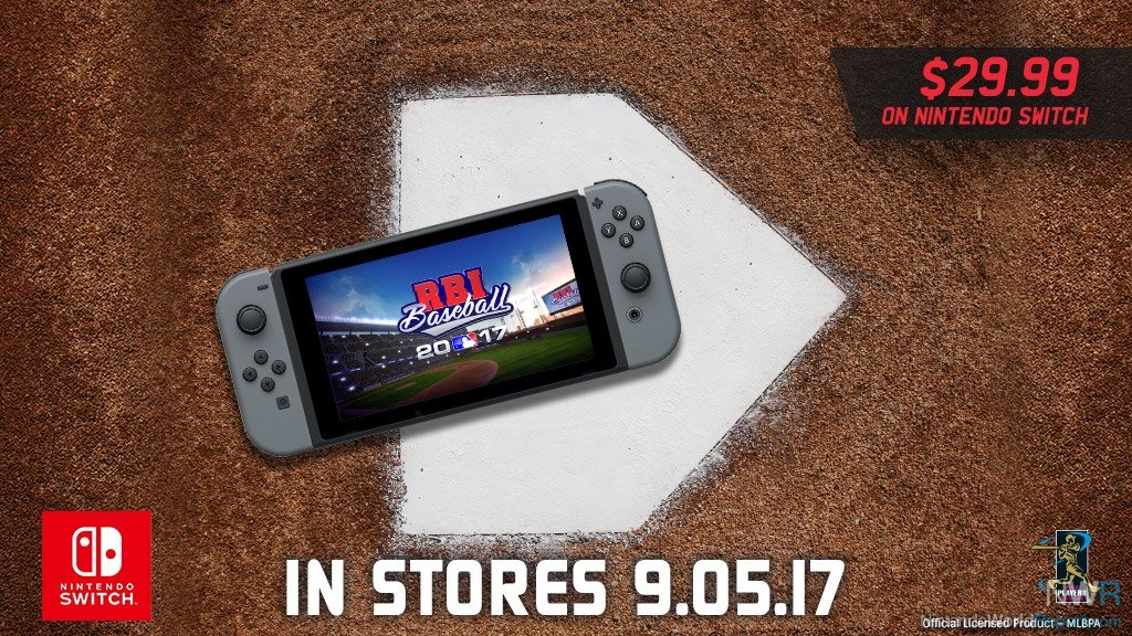 RBI Baseball 17 Coming to Nintendo Switch in September