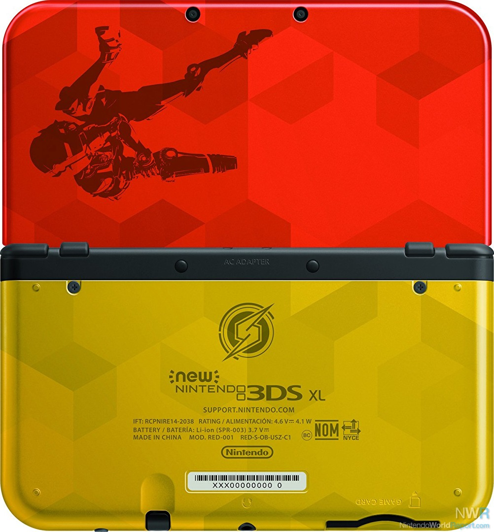There's A Samus Edition Metroid NEW 3DS XL On The Way