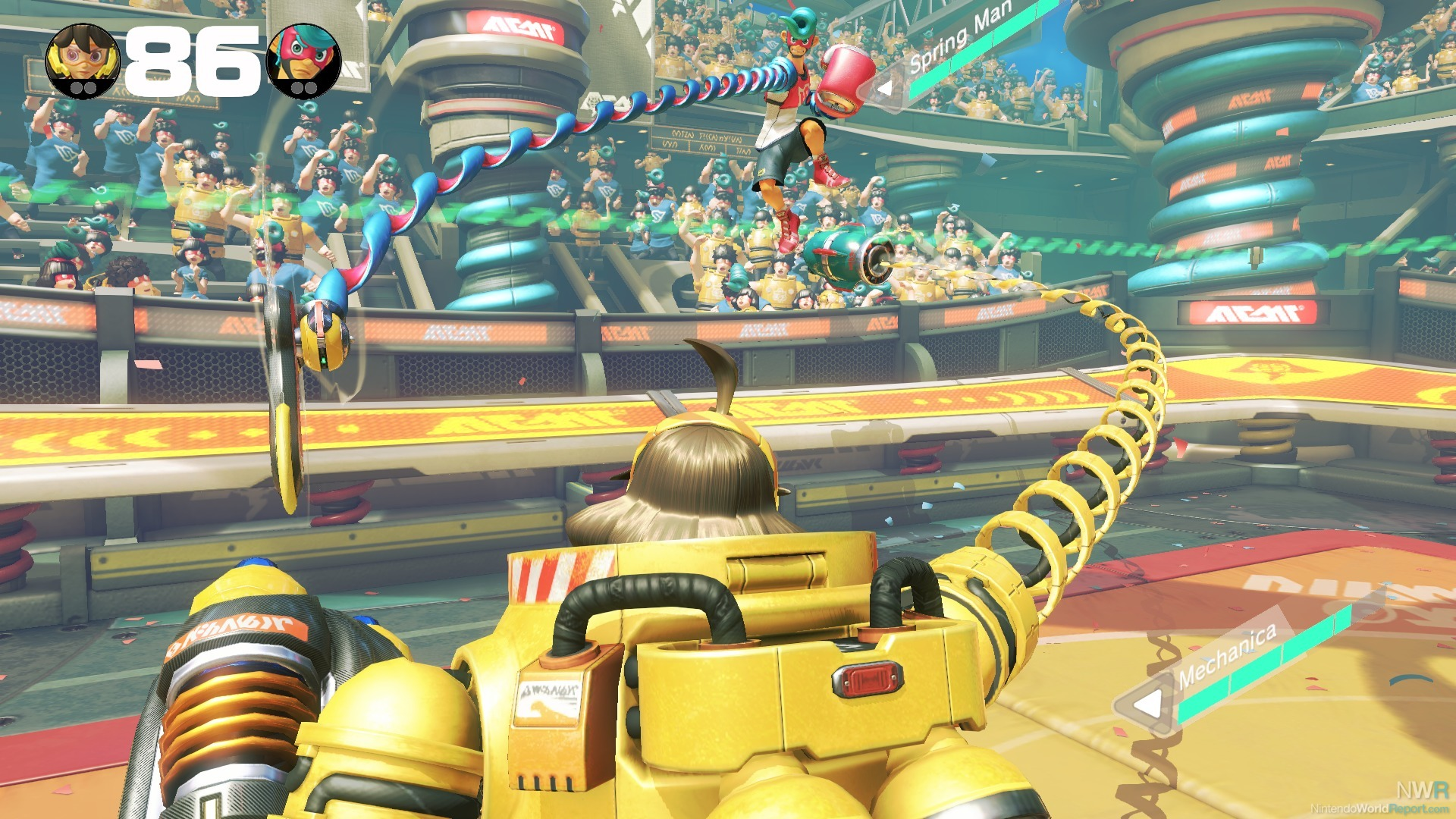 Arms Update Rebalances Roster, Adds New Training Exercises