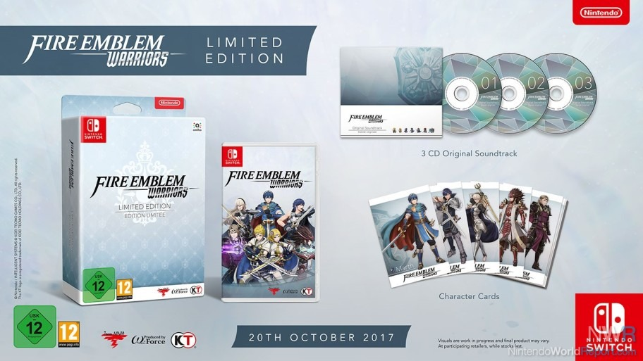 Fire Emblem Warriors Limited Edition Charges In With Release Date