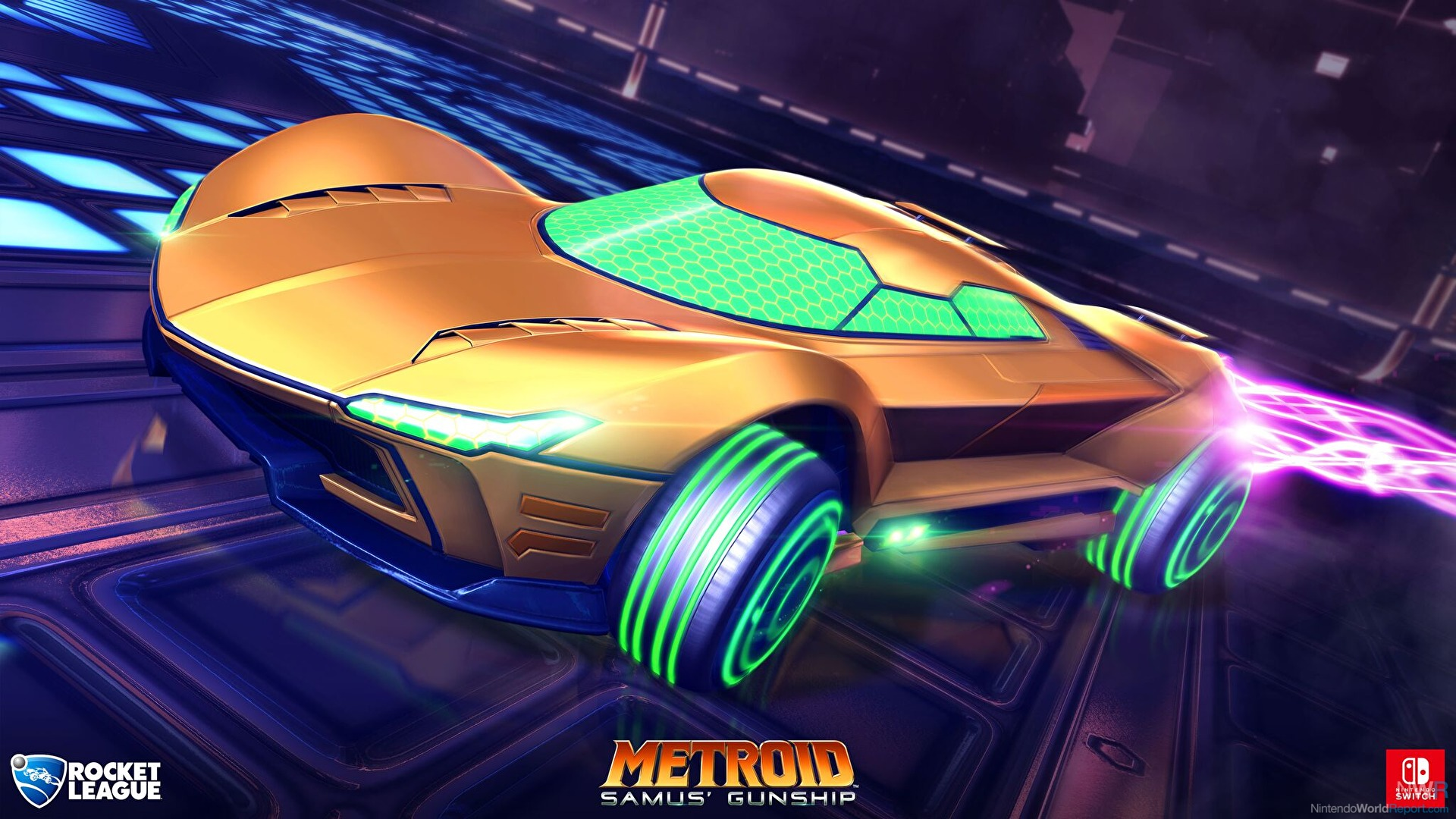 Mario, Luigi and Samus cars coming to Rocket League