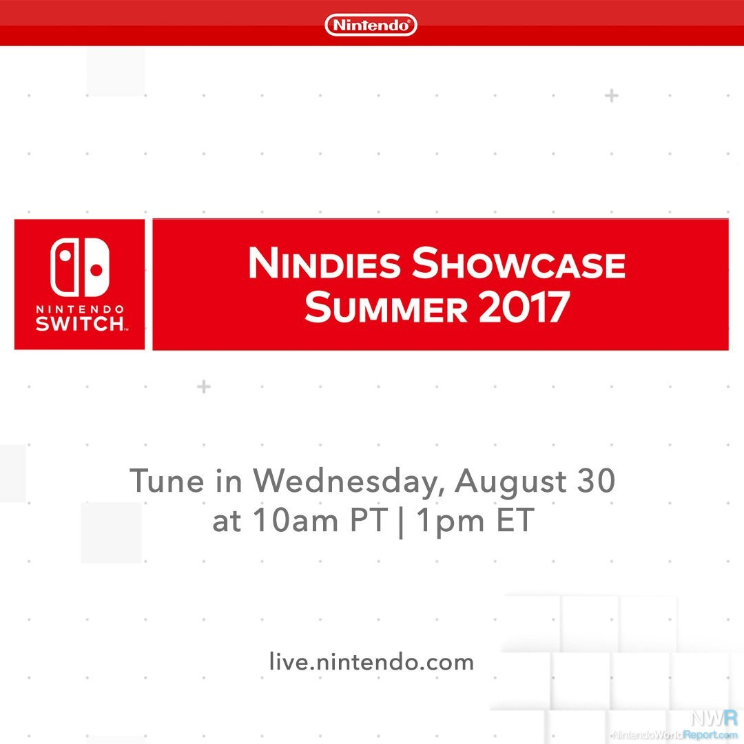Nindies Showcase Summer 2017 Presentation Hits This Wednesday