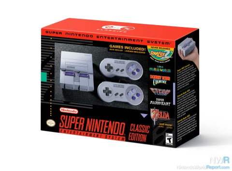 Super NES Classic Will Have