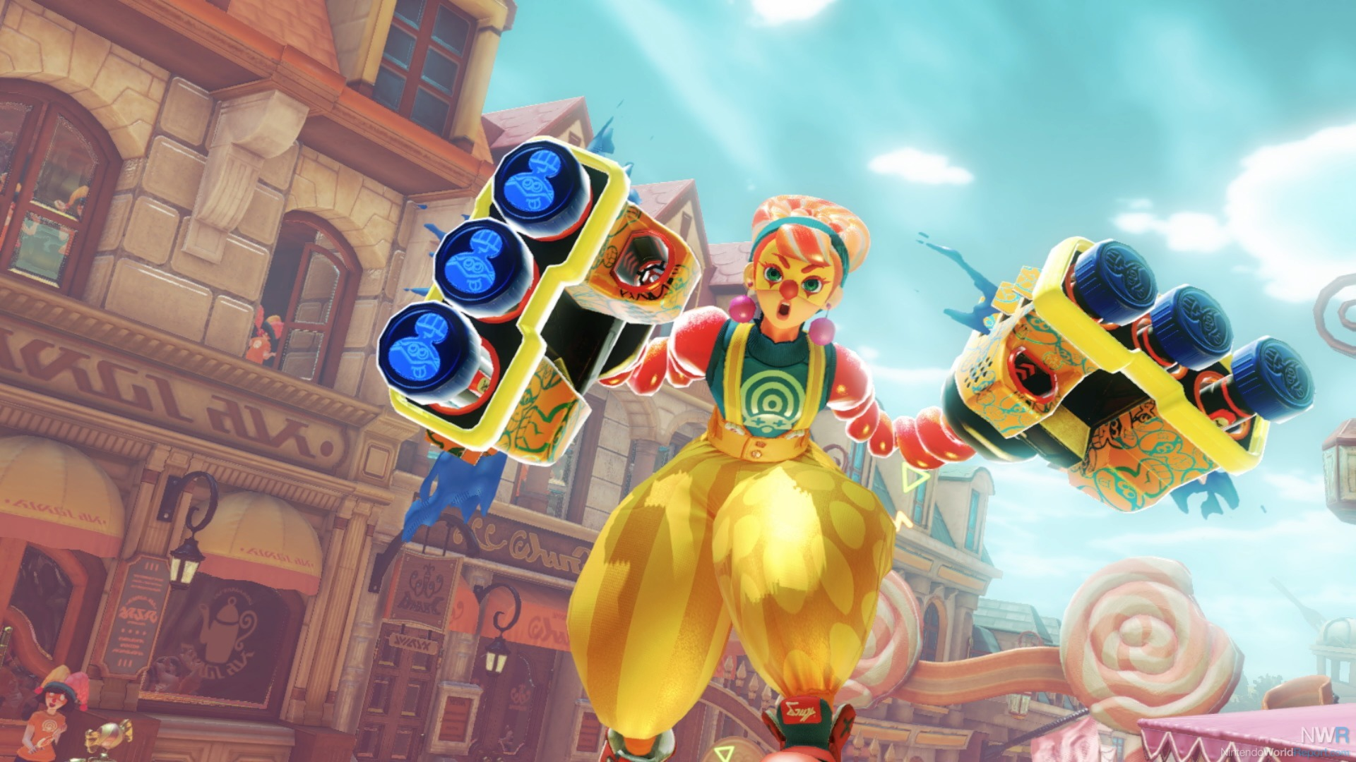 ARMS 3.2 Update Teases Achievement System, New Character Variation