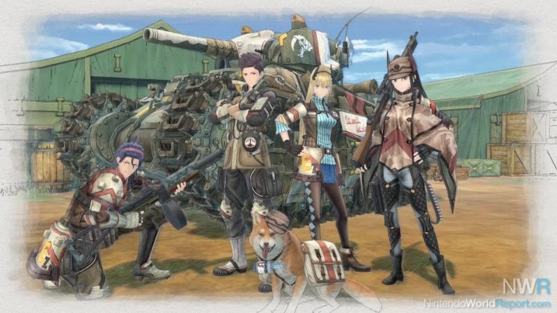 Valkyria Chronicles 4 deploying onto the PS4, Xbox One, Switch in 2018