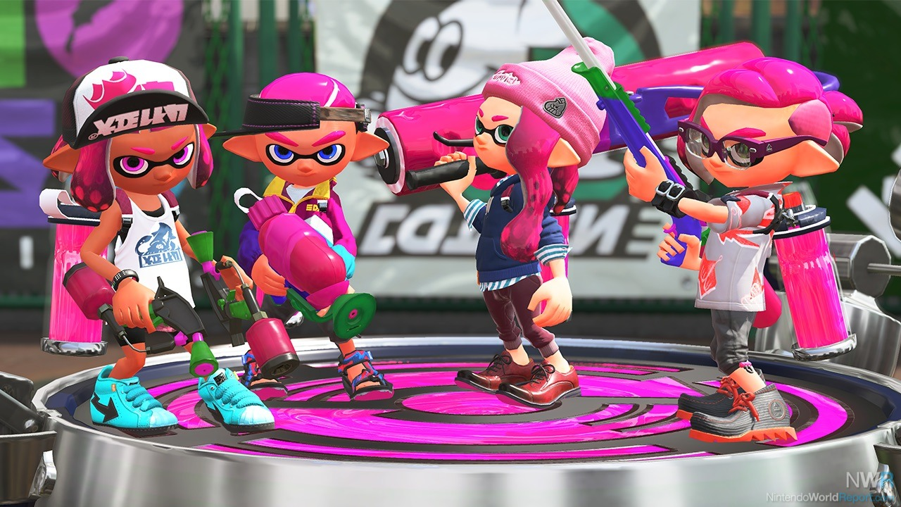 Nintendo Unveils A Huge Amount Of New Content For Splatoon 2