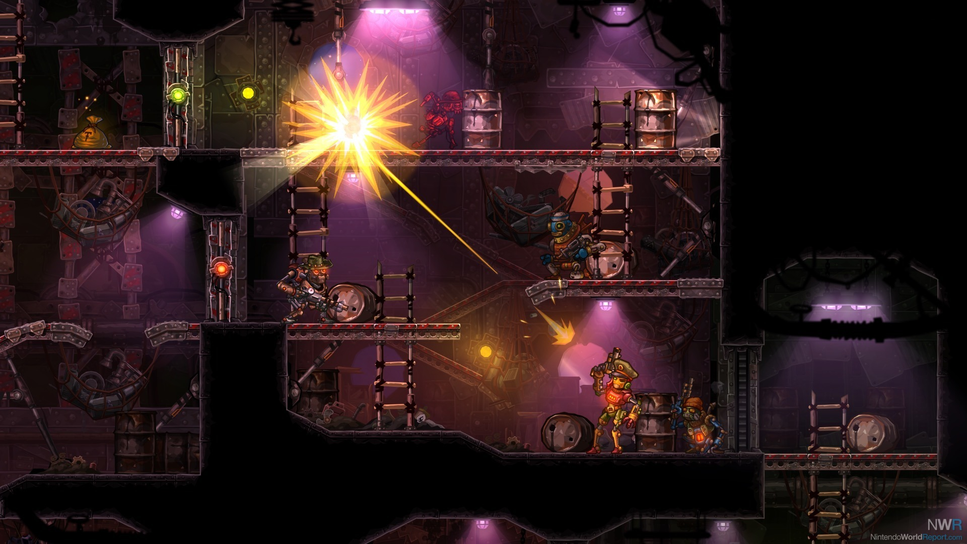 SteamWorld Heist: Ultimate Edition heading to Switch on December 28