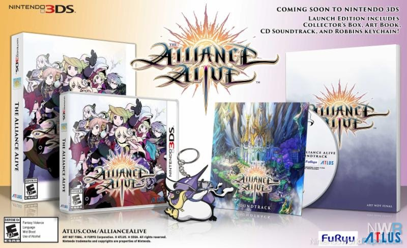The Alliance Alive Is Coming To The West On 27th March