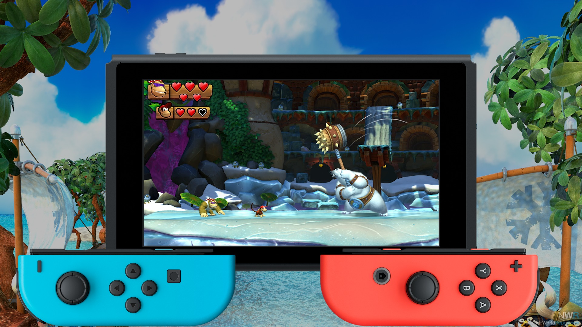 Donkey Kong Country Tropical Freeze Hands On Preview Hands On