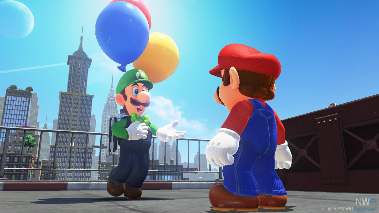 Super Mario Odyssey DLC Introduces Luigi's Balloon World