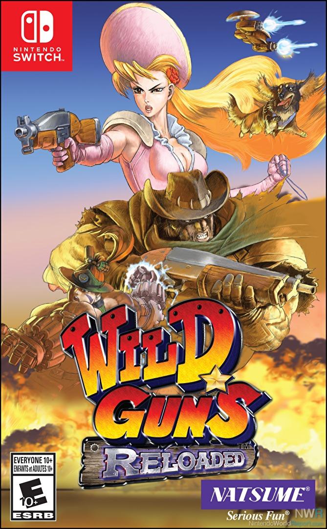 Wild Guns Reloaded - Game - Nintendo World Report