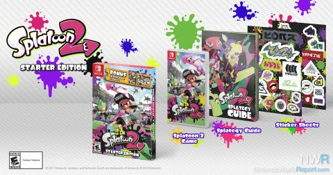 Splatoon 2 Starter Edition Releases In March, More Characters Get Amiibo Treatment