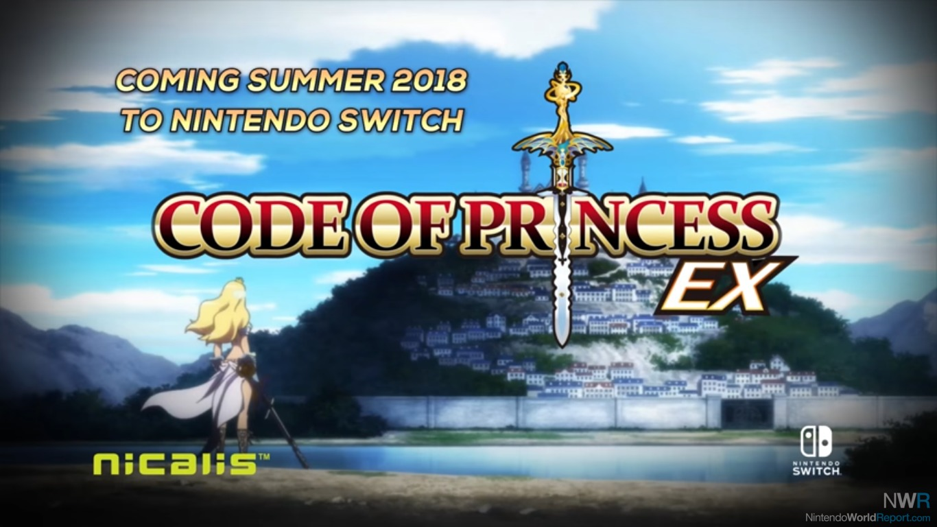 Code Of Princess EX Is Headed To Nintendo Switch This Summer
