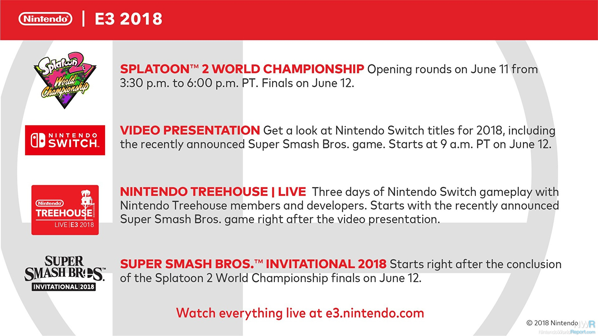Nintendo lays out E3 plans including Splatoon 2 and Smash tourneys