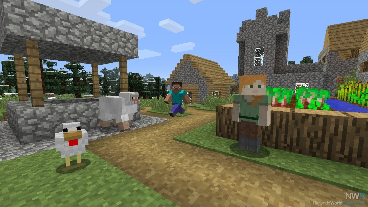 Cross-Platform Play Hits Minecraft: Nintendo Switch Edition Next Month