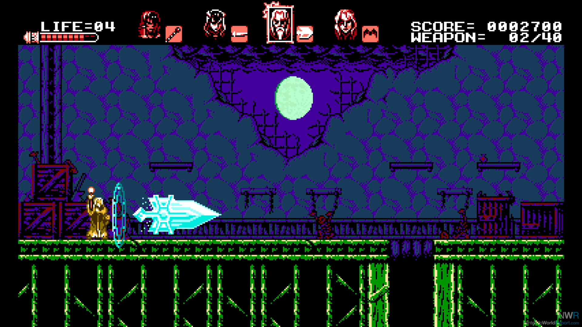 'Bloodstained: Curse of the Moon' summons 8-bit 'Castlevania' charm