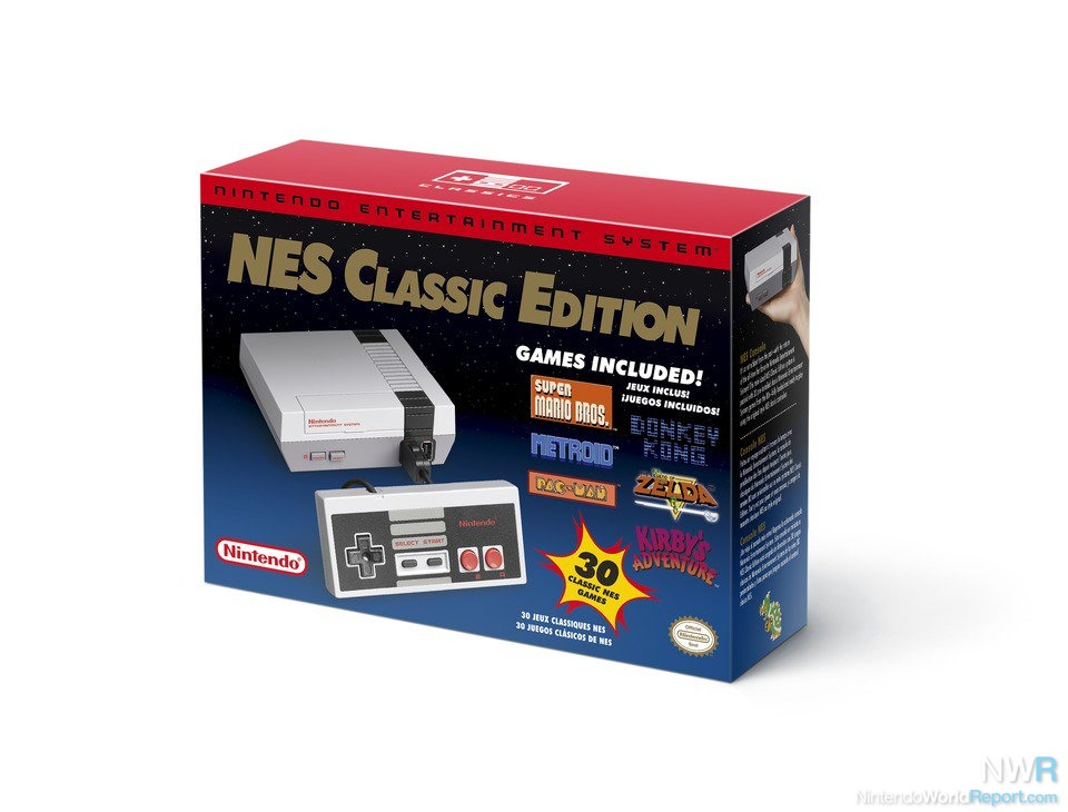 The NES Classic Edition will return next month