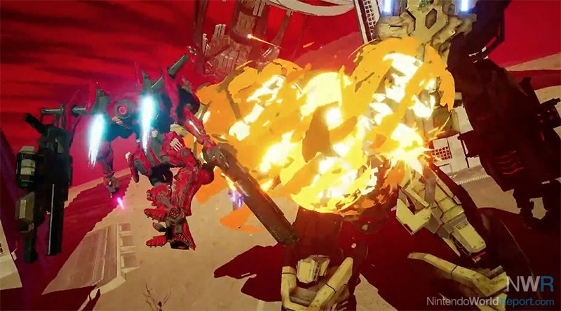Daemon x Machina arrives on the Nintendo Switch in 2019