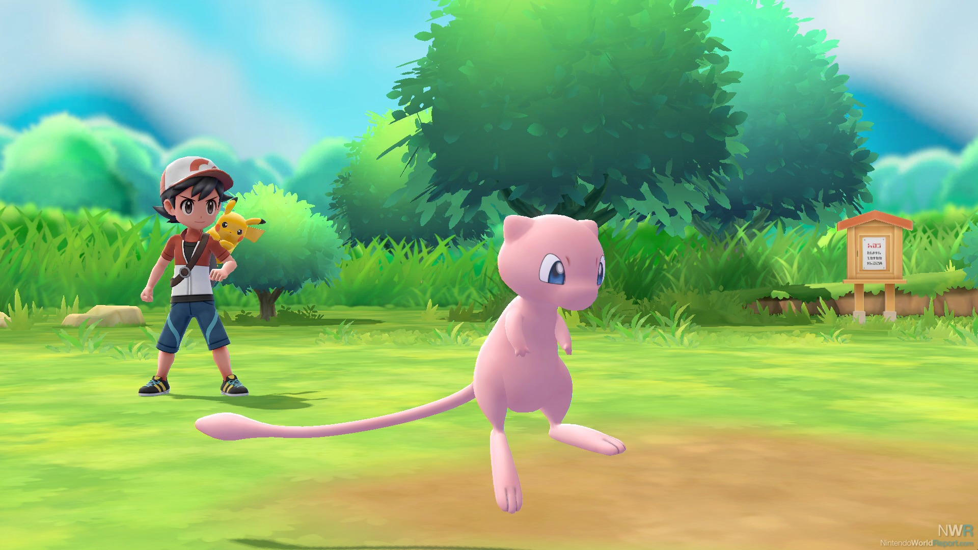 Mew included with PokeBall Plus for Pokemon: Let's Go, Pikachu and Eevee